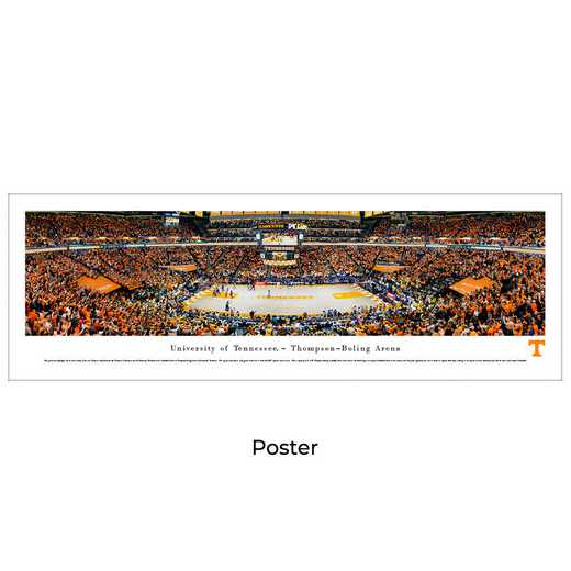 UTN4: BW Tennessee Volunteers Basketball, Unframed