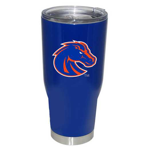 COL-BOS-750101: 32oz Decal PC SS Tumbler Boise St