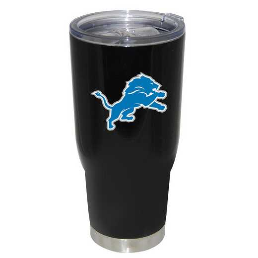 NFL-DLI-750101: 32oz Decal PC SS Tumbler Lions