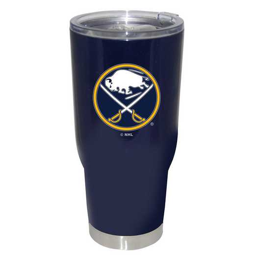 NHL-BSA-750101: 32oz Decal PC SS Tumbler Sabers