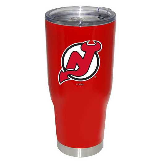 NHL-NJD-750101: 32oz Decal PC SS Tumbler Devils