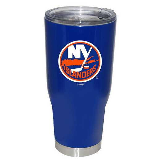 NHL-NYI-750101: 32oz Decal PC SS Tumbler Islanders
