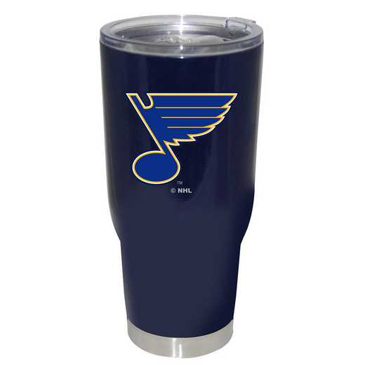 NHL-SLB-750101: 32oz Decal PC SS Tumbler Blues
