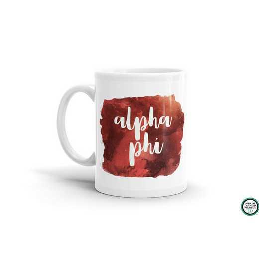 MG047: TS Alpha Phi Water Color Coffee Mug