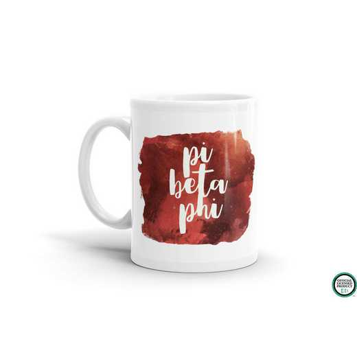 MG050: TS Pi Beta Phi Water Color Coffee Mug