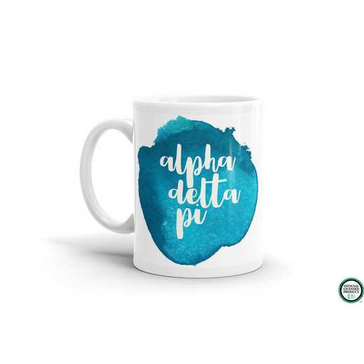 MG052: TS Alpha Delta Pi Water Color Coffee Mug