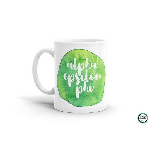 MG058: TS Alpha Epsilon Phi Water Color Coffee Mug
