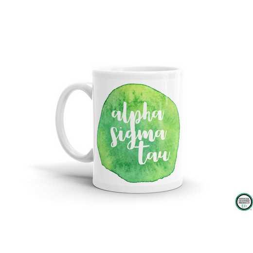 MG059: TS Alpha Sigma Tau Water Color Coffee Mug
