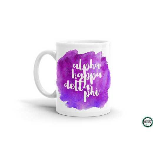 MG063: TS alpha Kappa Delta Phi Water Color Coffee Mug