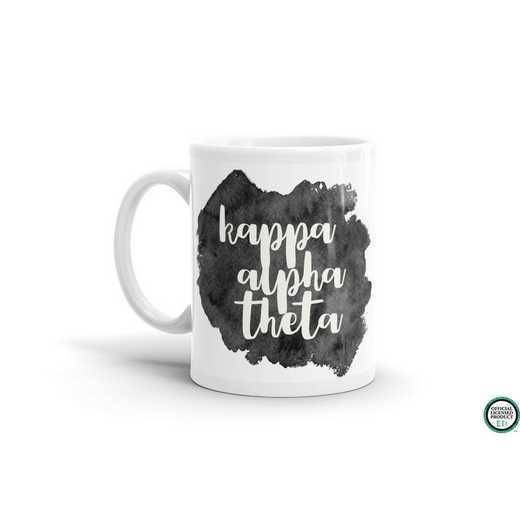 MG076: TS Kappa Alpha Theta Water Color Coffee Mug