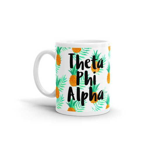 MG101: TS Theta Phi Alpha All Over Pineapple Print Coffee Mug