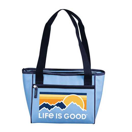 004-83-LIG2: Life is Good Outdoors 16 Can Cooler Tote