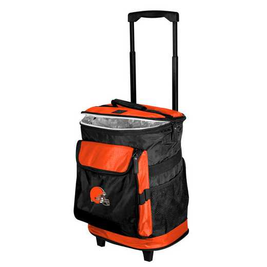 608-57B-1: Cleveland Browns Rolling Cooler