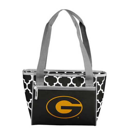 144-83QF: Grambling State Quatrefoil 16 Can Cooler Tote