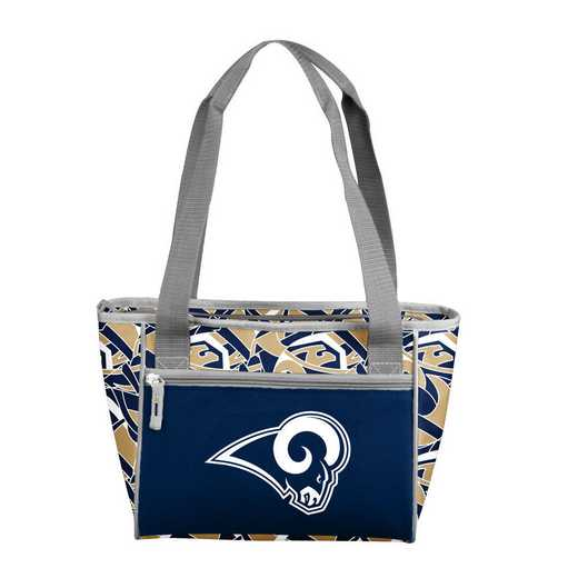 629-83-FIT1: LA Rams FIT 16 Can Cooler Tote