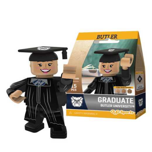 P-CFBBUTGF-G1GT: OYO GraduateFemale  OYO minifigureButler Bulldogs