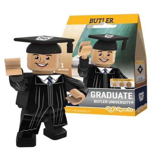 P-CFBBUTGM-G1GT: OYO GraduateMale Graduate OYO minifigureButler Bulldogs