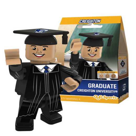 P-CFBCREGM-G1GT: OYO GraduateMale Graduate OYO minifigureCreighton Bluejays
