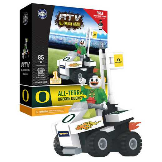 P-CFBORETC-G2PS: ATV with Mascot Oregon Ducks85pc BBS