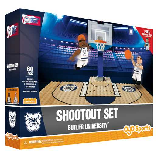 P-NCAABUTFS1-G1FB: Official TeamShootout SetButler Bulldogs