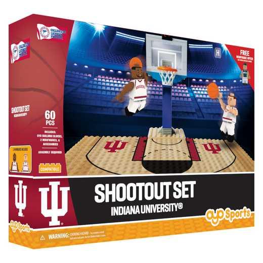 P-NCAAUINFS1-G1FB: Shootout SetIndiana University Hoosiers60pc Play Set