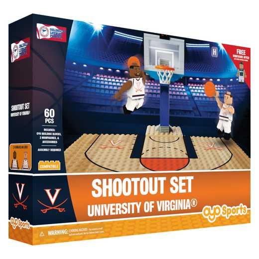 P-NCAAUVAFS1-G1FB: Official TeamShootout SetVirginia Cavaliers