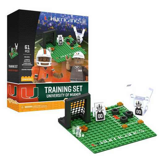 P-CFBMIAPS1-G2PS: Training Camp SetMiami Hurricanes61pc BBS