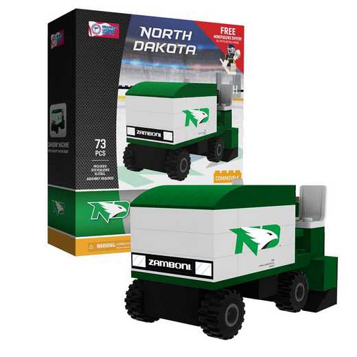 P-CHKUNDZAM-G1PS: Zamboni® MachineNorth Dakota Fighting Hawks73pc BBS