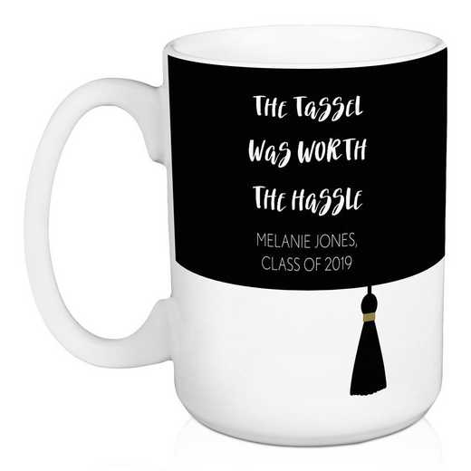 5474-F: DD TASSLE WORTH THE HASSLE MUG
