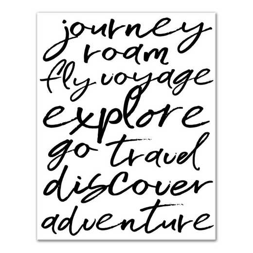 5505-G: DD JOURNEY ROAM FLY 11X14
