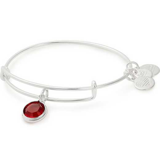 A19EB40SS: Alex and Ani January Birthstone Bangle - Scarlet Crystal