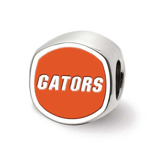 SS501UFL: SS Logoart U Of Florida Cushion Shaped Logo Reflection Beads