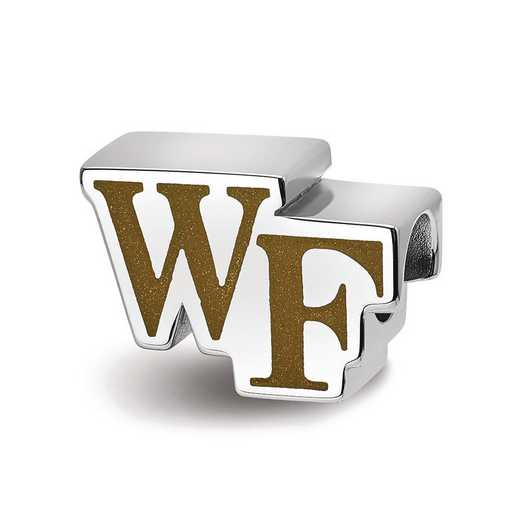 """SS500WFU: SS Wake Forest U """"Wf"""" Primary Extruded Logo Reflection Beads"""