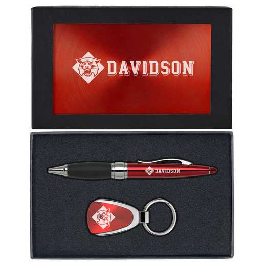 SET-A1-DAVIDSN-RED: LXG Set A1 KC Pen, Davidson