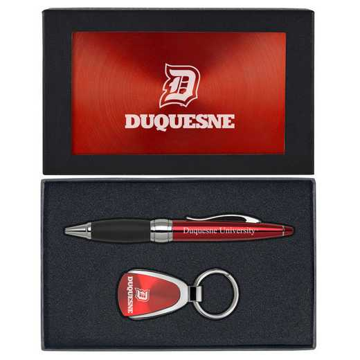 SET-A1-DUQUESNE-RED: LXG Set A1 KC Pen, Duquesne