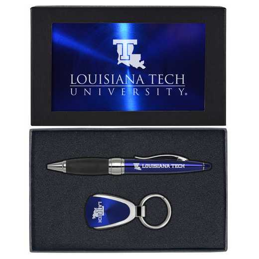 SET-A1-LATECH-BLU: LXG Set A1 KC Pen, Louisiana Tech