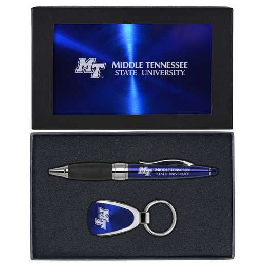 SET-A1-MTSU-BLU: LXG Set A1 KC Pen, Middle Tennessee State