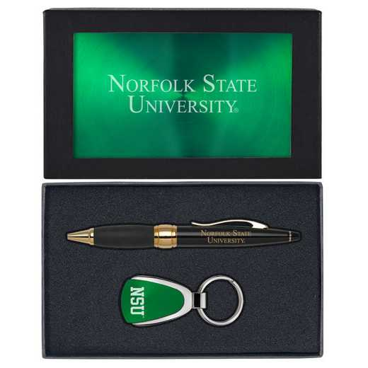 SET-A1-NORFOLK-GRN: LXG Set A1 KC Pen, Norfolk State