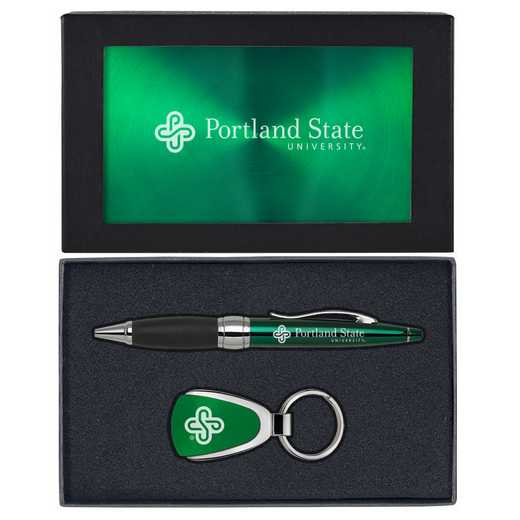 SET-A1-PORTLNDST-GRN: LXG Set A1 KC Pen, Portland State