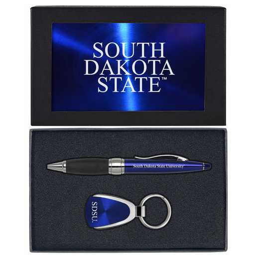 SET-A1-SDKTAST-BLU: LXG Set A1 KC Pen, South Dakota State