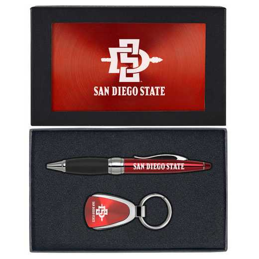 SET-A1-SDSU-RED: LXG Set A1 KC Pen, California State-San Diego