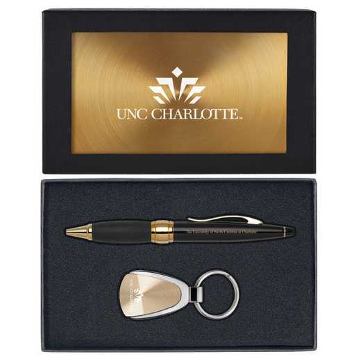 SET-A1-UNCCHAR-GLD: LXG Set A1 KC Pen, North Carolina-Charlotte