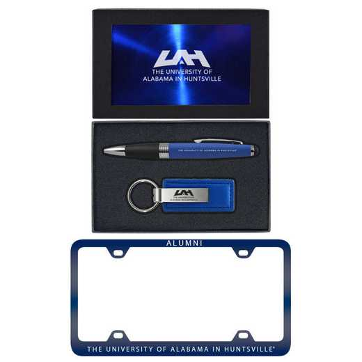 SET-A3-ALABHUNT-BLU: LXG Set A3 pen KC Tag, Alabama-Huntsville