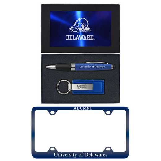 SET-A3-DELWARE-BLU: LXG Set A3 pen KC Tag, Delaware