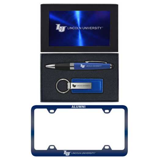 SET-A3-LINCOLN-BLU: LXG Set A3 pen KC Tag, Lincoln