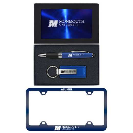 SET-A3-MNMOUTHU-BLU: LXG Set A3 pen KC Tag, Monmouth