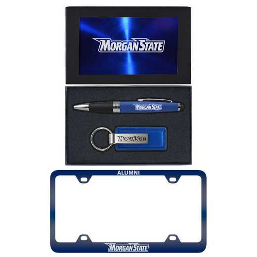 SET-A3-MORGANST-BLU: LXG Set A3 pen KC Tag, Morgan State