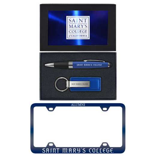 SET-A3-STMARYS-BLU: LXG Set A3 pen KC Tag, Saint Mary's-California