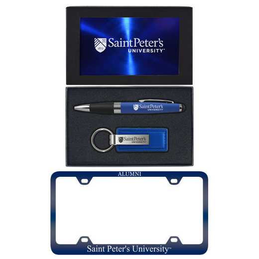 SET-A3-STPETRS-BLU: LXG Set A3 pen KC Tag, Saint Peters
