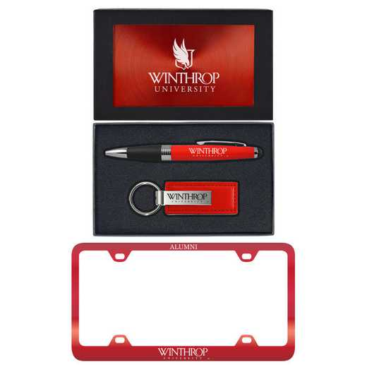 SET-A3-WINTHROP-RED: LXG Set A3 pen KC Tag, Winthrop